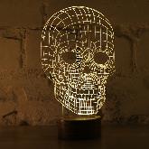 Bulbing Lamp #Череп