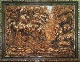 3D Картина из янтаря Золотая осень