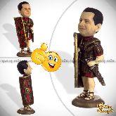 Кукла шарж для мужчины «Римский легионер» 20см.