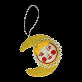 Дизайнерская игрушка Солнышко с месяцем