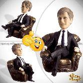 Кукла шарж начальнику «Начальник в кресле»