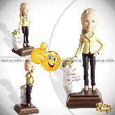 Кукла шарж начальнице «Золотая начальница»