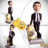 Кукла шарж руководителю «Золотой босс»