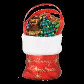 Ёлочная игрушка из Польши Мешок Деда Мороза