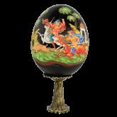 Пасхальное яйцо деревянное Охота