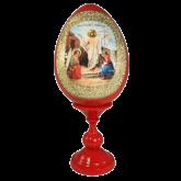 Пасхальное яйцо деревянное Воскресение Христово!