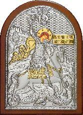Георгий Победоносец 5 - ЮЗЛ - 10 - Хризолит 14,5*20
