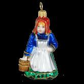Ёлочная игрушка из Польши Доярка