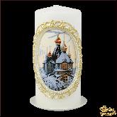 Свеча пенек Церковь