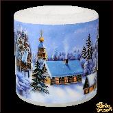 Свеча фонарик Рождественский вечер