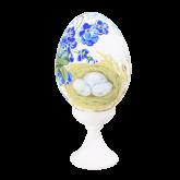 Пасхальное яйцо куриное на подставке В ожидании чуда