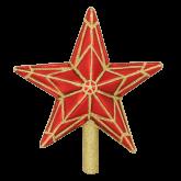 Ёлочная игрушка из Польши Кремлевская звезда