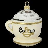 Ёлочная игрушка из Польши Чашка кофе
