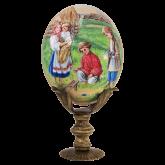 Пасхальное яйцо страусиное Пасхальная игра