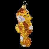 Ёлочная игрушка из Польши Морской конек