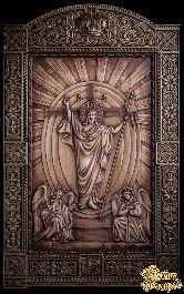 Резное панно «Воскресенье Христово»