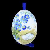 Пасхальное яйцо куриное на ленте В ожидании чуда