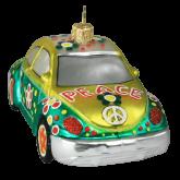 Ёлочная игрушка из Польши Веселая машина