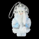 Дизайнерская игрушка Снегурочка в голубом