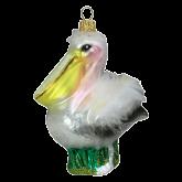 Ёлочная игрушка из Польши Пеликан