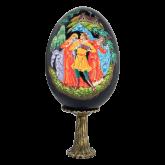 Пасхальное яйцо деревянное Гулянье