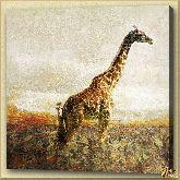 Жираф, картина, Модерн животный мир №1