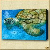 Большая черепаха, картина, Модерн животный мир №38