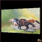 Табун лошадей, картина, Модерн животный мир №66