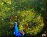 Великолепный павлин, картина, Модерн животный мир №78