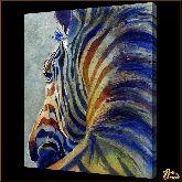 Зебра, картина, Модерн животный мир №81
