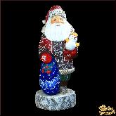 """Деревянная фигура """"Дед Мороз"""""""
