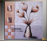 Цветок Crusoe, картина, Модерн цветы №10