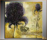 Сиреневый цветок, картина, Модерн цветы №12