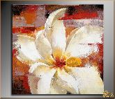 Распустившийся цветок, картина, Модерн цветы №21