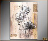 Романтические цветы, картина, Модерн цветы №6