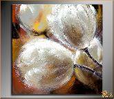 Цветы из стекла, картина, Модерн цветы №7