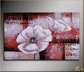 Цветок Robinson, картина, Модерн цветы №9