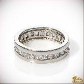 Кольцо с кристаллами Сваровски IR0049, размер свободный
