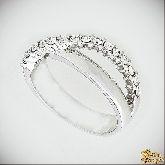 Кольцо с кристаллами Сваровски IR0054, размер свободный