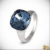 Кольцо с кристаллами Сваровски IR0123B, размер 18,0