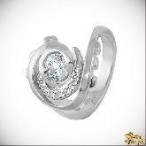 Кольцо с кристаллами Сваровски IR0127, размер 18,0
