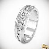 Кольцо с кристаллами Сваровски IR0135, размер свободный