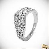 Кольцо с кристаллами Сваровски IR0143, размер 17,5
