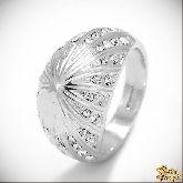 Кольцо с кристаллами Сваровски IR0154, размер 18,0