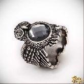 Кольцо с кристаллами Сваровски IR0194, размер свободный