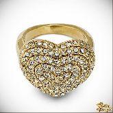 Кольцо с кристаллами Сваровски IR0231, размер 18,0