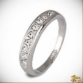 Кольцо с кристаллами Сваровски IR0233, размер свободный