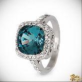 Кольцо с кристаллами Сваровски IR0237LB, размер 17,5