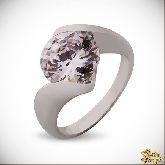 Кольцо с кристаллами Сваровски IR0245W, размер 17,0