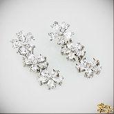 Серьги с кристаллами Сваровски IS0065